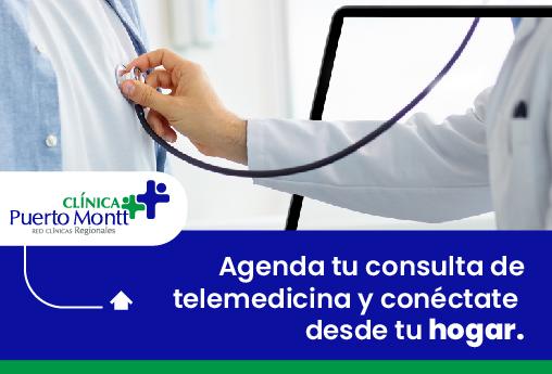 ¡Nuevo servicio! Telemedicina en Clínica Puerto Montt
