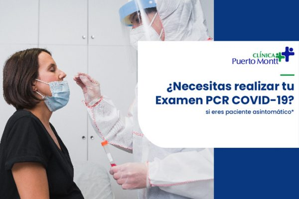 ¡Realiza tu examen PCR COVID-19 en Clínica Puerto Montt!